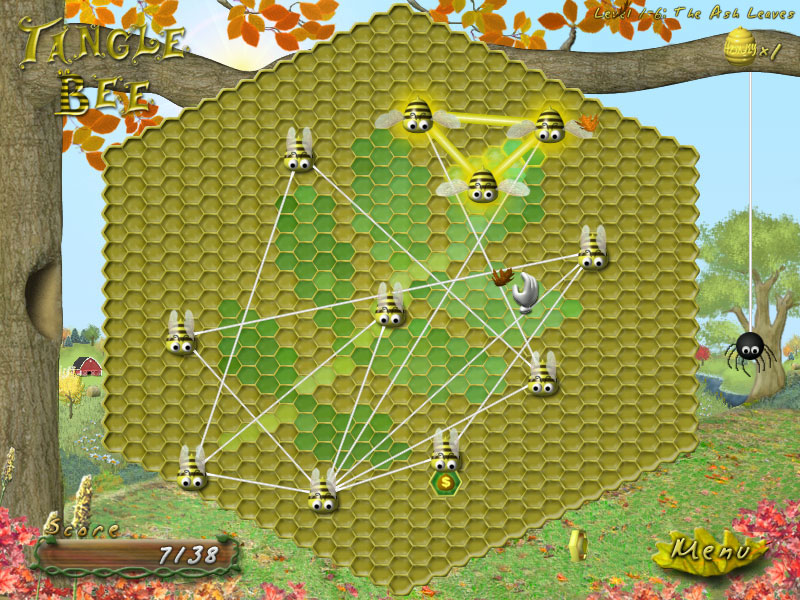 Tangle Bee, Puzzle, Games, Casual, Action, Kids, Relaxing, Family, PC, Non-Viole